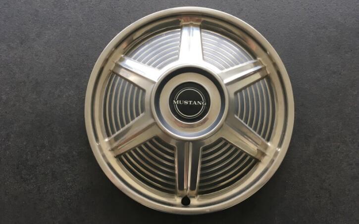 1965 mustang hubcap