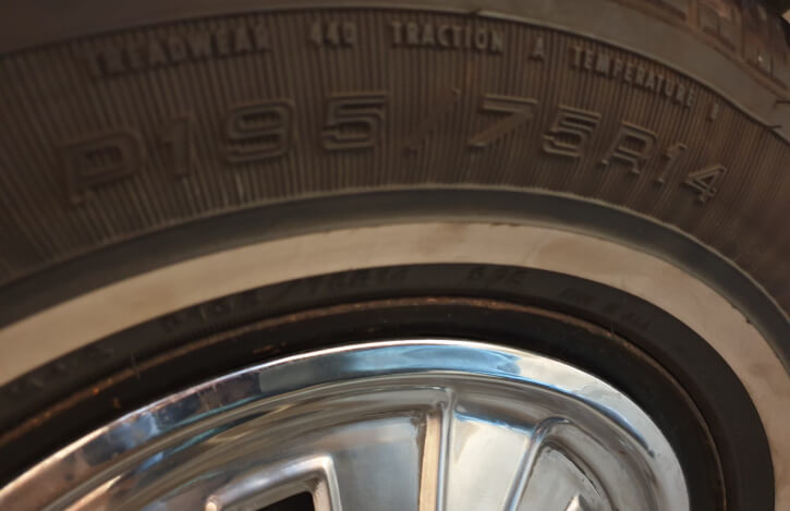 65 66 mustang tires