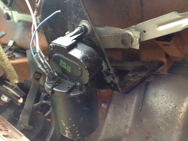 65 mustang wiper motor