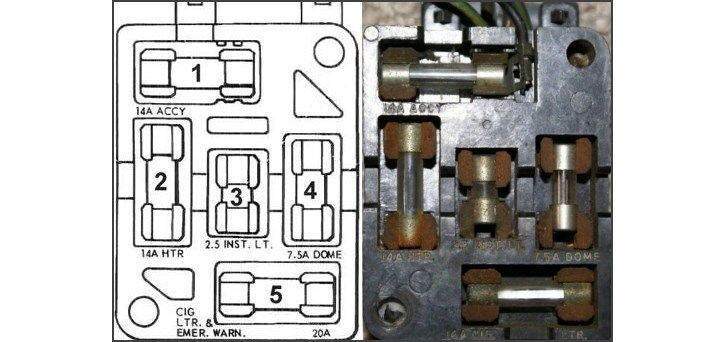 1964 ford mustang fuse box wiring diagram article  1964 mustang fuse diagram #11