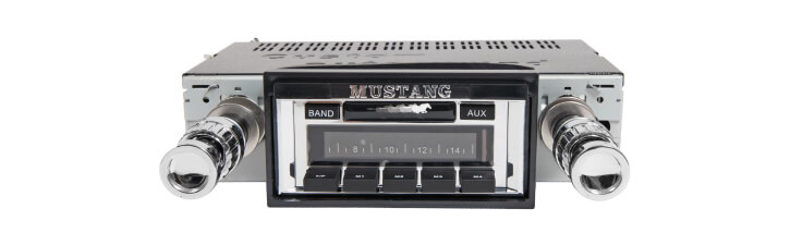 mustang replacement radio