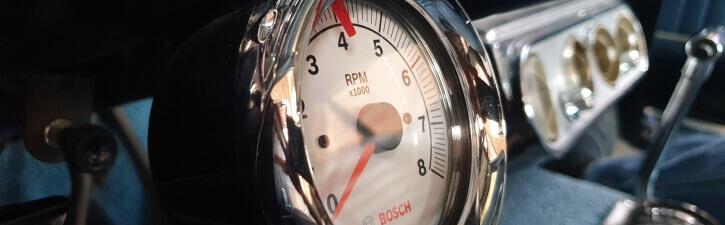 1965 mustang tachometer