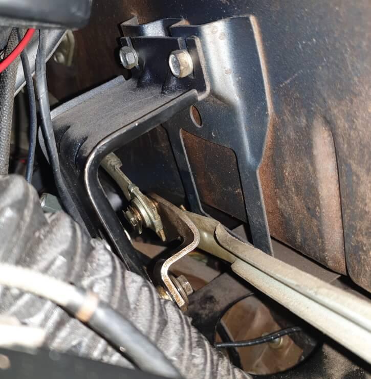 mustang windshield wiper linkage